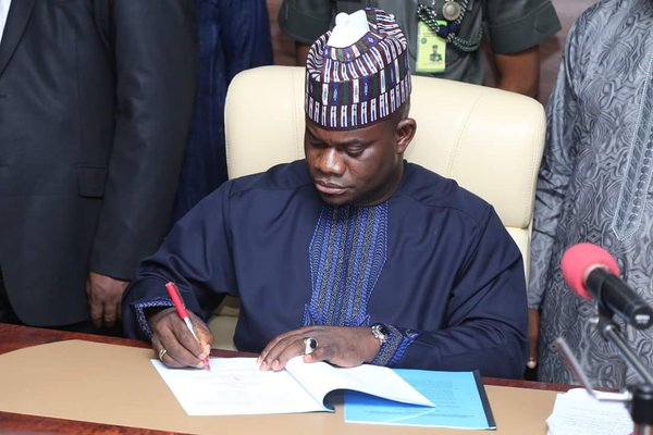 Bello sends N11bn supplementary budget - Gov Yahaya Bello
